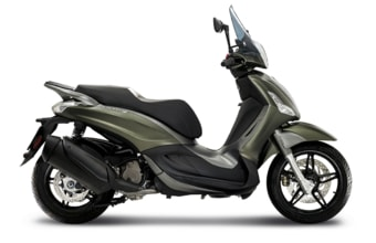Piaggio Beverly Sport Touring 350 ABS verde opaco