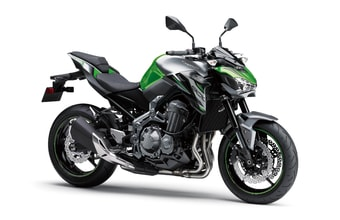 Kawasaki Z900 candy lime green