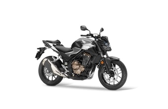 Honda CB500F matt gunpowder black metallic