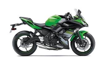 Kawasaki Ninja 650 lime green KRT Edition
