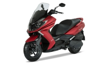 Kymco New Downtown 350i ABS red