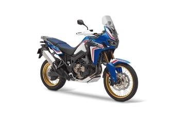 Honda CRF1000L Africa Twin glint wave blue metallic