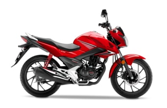 Honda CB125F candy blazing red