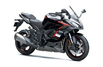 Kawasaki Ninja 1000SX dark gray with red 2021