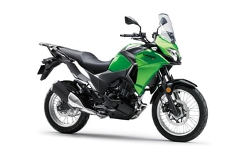 Kawasaki Versys-X 300 candy lime green