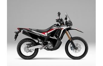 Honda CRF250 Rally black