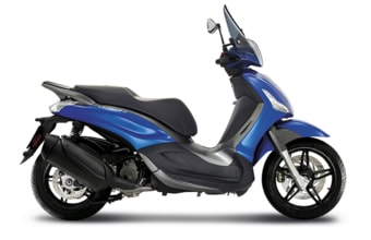 Piaggio Beverly Sport Touring 350 ABS blu sport