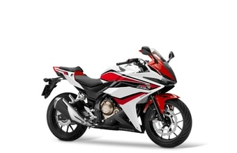 Honda CBR 500 R ABS metalloid white
