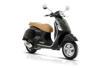 Vespa GTS 125ie ABS black met