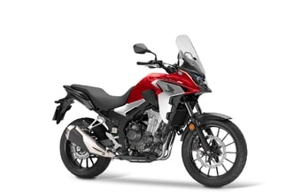 Honda CB500X grand prix red