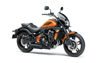 Kawasaki Vulcan S CAFE candy steel furnance orange