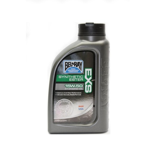 BEL-RAY MOTOROVÝ OLEJ EXS FULL SYNTHETIC ESTER 4T 15W-50