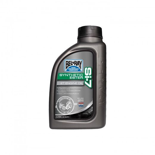 BEL-RAY MOTOROVÝ OLEJ BEL-RAY SI-7 FULL SYNTHETIC ESTER 2T 1 L