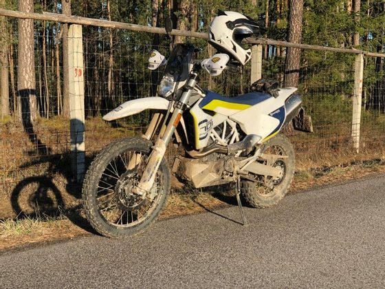 Test Husqvarna 701 Enduro
