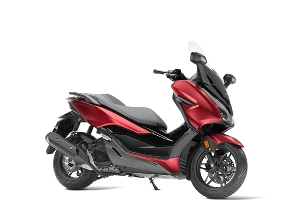 HONDA FORZA 125 MATT CARNELIAN RED METALLIC PEARL NIGHTSTAR BLACK