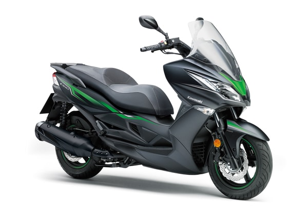 KAWASAKI J300 SE METALLIC FLAT ANTHRACITE BLACK