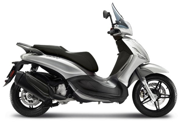 PIAGGIO BEVERLY SPORT TOURING 350 ABS ARGENTO COMETA