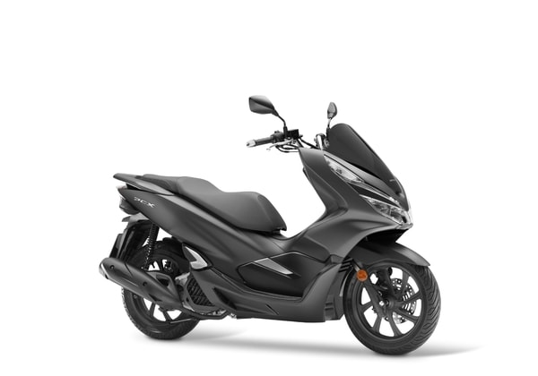 HONDA PCX 125 MATT CARBONIUM GREY METALLIC
