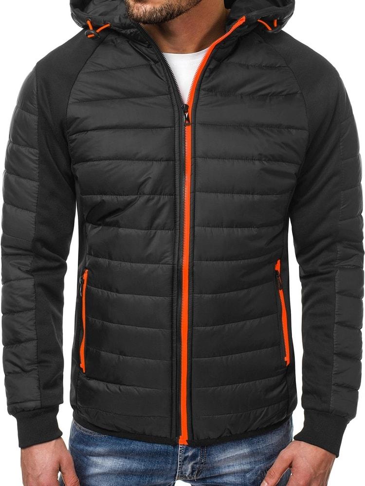 310cd2f72c3d Siiuomo.it - Giubbotto uomo invernale alla moda colore nero OZONEE ...
