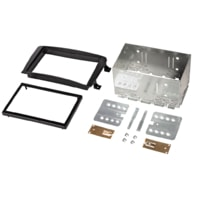Hama double Din Radio Installation Kit for Mercedes CLK, black