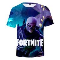Triko FORTNITE 3D Skull trooper