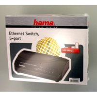 Hama 5-Port Switch 100/10 Mbps