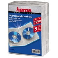 Hama double DVD Jewel Case, 5, transparent