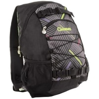 Chiemsee batoh Black Comp stripe check black