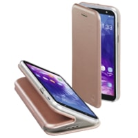 Hama Curve Booklet for Samsung Galaxy J4+, rose gold