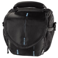 Hama Canberra 100 Colt Camera Bag, black/blue