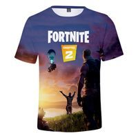 Triko FORTNITE 3D Sezona 2 Západ