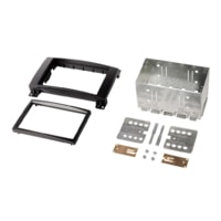 Hama double Din Radio Installation Kit for Mercedes A Class, black