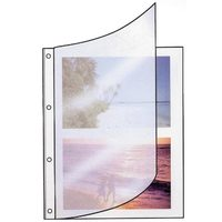 Hama card pages for ring-binder photo albums A4, White