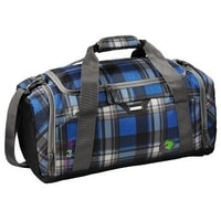 SporterPorter Large Sports Bag, Scottish Check
