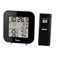 Hama EWS-200 Weather Station, black