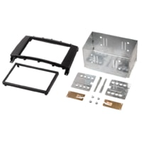 Hama double Din Radio Installation Kit for Mercedes C Class, black