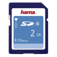Hama HighSpeed SecureDigital Card 2 GB 10 MB/s