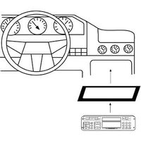 Hama car Radio Support for Peugeot 306