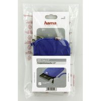 "Hama 2.5"" HDD Cover, neoprene, blue"