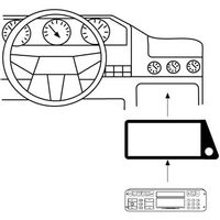 Hama car Radio Support for Ford KA
