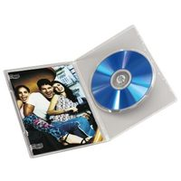 Hama DVD Jewel Case, Slim 5, transparent