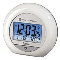 Hama RC 600 Radio-Controlled Alarm Clock