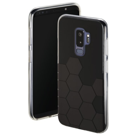HAMA HEXAGON COVER FOR SAMSUNG GALAXY S9+, BLACK