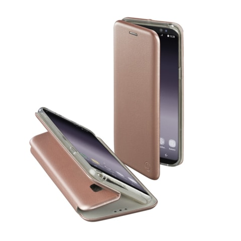 HAMA CURVE BOOKLET FOR SAMSUNG GALAXY S9, ROSE GOLD