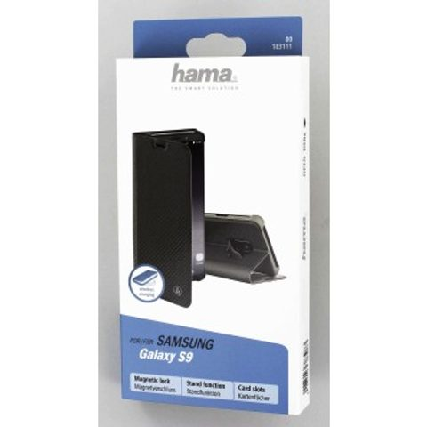 HAMA SLIM PRO BOOKLET FOR SAMSUNG GALAXY S9, GREY