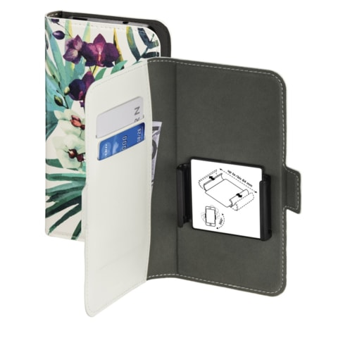 "HAMA SMART MOVE-ORCHID BOOKLET, SIZE XL (4,7-5,1""), WHITE/MULTI-COLOURED"