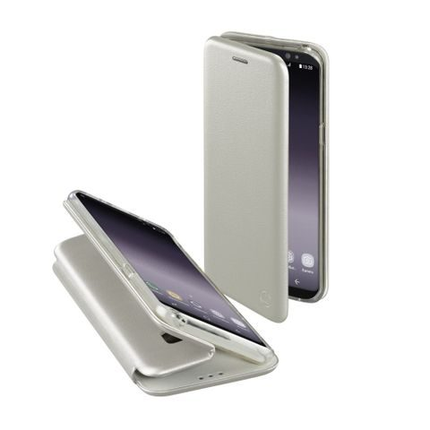 HAMA CURVE BOOKLET FOR SAMSUNG GALAXY S9, SILVER