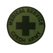 Nášivka Medical service