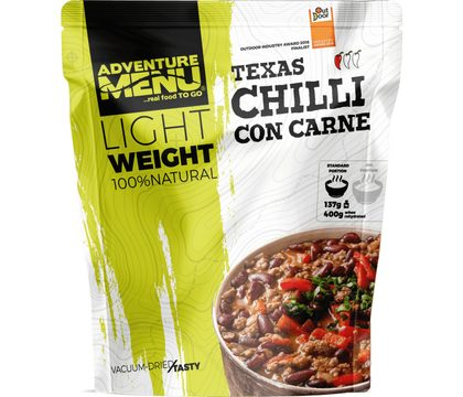 Adventure menu - Lightweight Chilli Con Carne