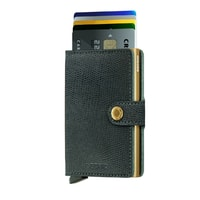 Secrid Miniwallet Rango - Green & Gold